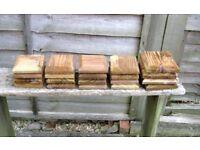 Wood fence post caps