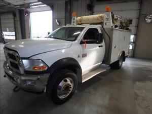 2011 Dodge Ram 5500 SLT Service Truck VMAC Crane 6.7L Diesel