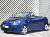 2007/57 MITSUBISHI COLT CABRIOLET 1.5 CZC TURBO -ONLY 33000 MILES !!!