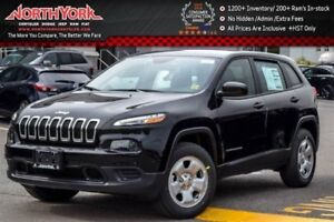 2017 Jeep Cherokee NEW Car Sport|4x4|Bluetooth|A/C|Selec-Terrain