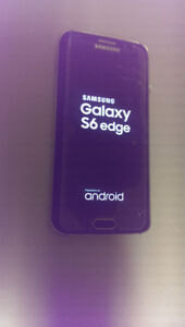 FACTORY UNLOCKED SAMSUNG S6 EDGE 32GB WITH CRACKED SCREEN