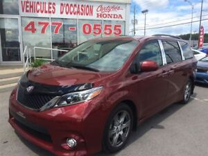 2017 Toyota Sienna SE 8 Passagers, Wow Comme Neuve
