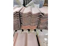 40x Redland roof tiles - various colours