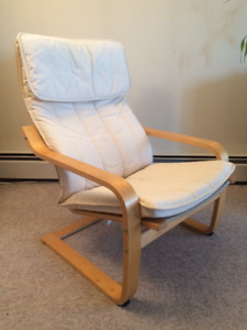 IKEA POÄNG CHAIR WHITE COLOUR FOR $47.00