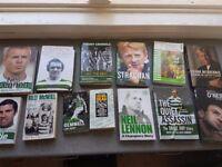 lot of Celtic FC books
