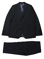 PS by Paul Smith Black Wool-Mohair Suit (new with tags)