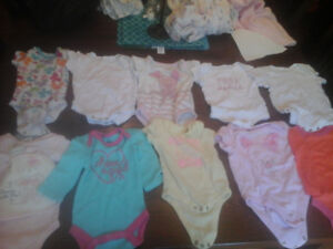 Size 0-3 month baby girl clothes