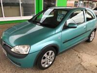 2002 Vauxhall/Opel Corsa 1.2i 16v 2002.5MY SXi Mot 22 Sep 2017