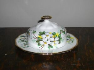 ROYAL ALBERT WHITE DOGWOOD FINE BONE CHINA FOR SALE!