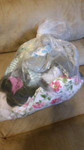 Bag of girls clothes