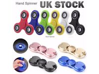 Hand Spinners Fidget Hand Finger Focus Aluminum EDC Steel Bearing Stress Relieve Toys