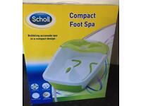 School compact foot spa