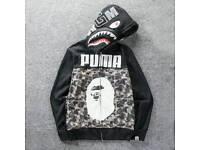 Genuine Bape puma hoodie