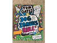 Tom Gates Dog Zombies Rule (hardback), Tom Gates Genius Ideas (paperback)