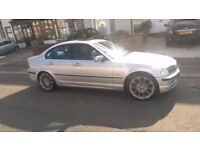 bmw 323i Automatic e46 1 owner, service history,low miles xenons px 318,330,accord,lexux,,e240,civic
