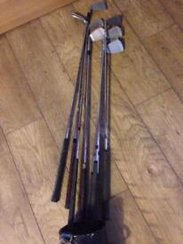 Selection of vintage golf clubs £5