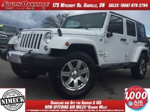 2015 Jeep Wrangler Unlimited Sahara | HEATED LEATHER | NAVIGATIO