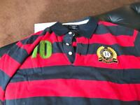 Hackett rugby/polo shirt