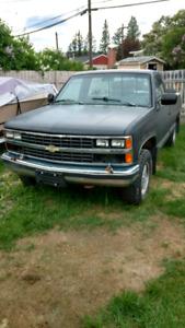 1988 k1500 running parts truck