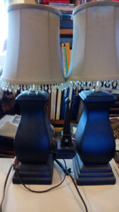 Two beautiful table lamps -$20