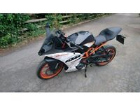 KTM RC 390 A2 supersport motorbike