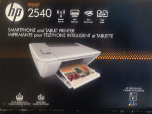 hp wireless smartphone & tablet printer - excellent condition