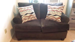 Practically New Chocolate Brown Couch