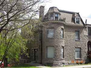 Very nice appar .21/2-31/2 -41/2 very well located Ghetto McGill