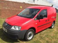 Volkswagen caddy 2007 1 owner f/a/h 4 new tyres long mot