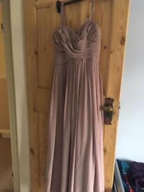 Bridesmaid dress in lavender
