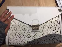 White Cutwork Bag