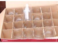 Ten new and unused Cider Glasses