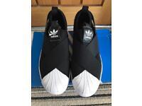 Adidas Superstar slip on size 4 BNIB