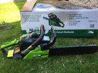 The Handy Petrol Chainsaw
