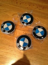 Bmw centre wheel caps 68mm