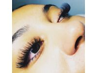 Eyelash Extensions (Russian Volume lashes) 40£