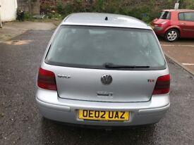 2002 Volkswagen Golf 1.9 TDI PD GT 3dr FULLY HPI CLEAR @07445775115@
