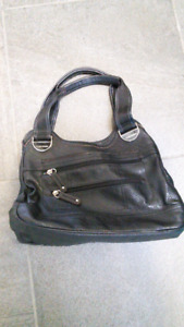 Tyler Rodan black leather purse or bag