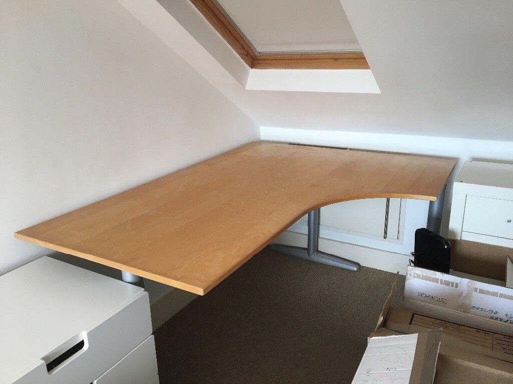 Ikea effektiv corner desk in hove east sussex gumtree