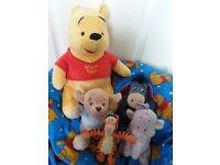 Joblot: Winnie the Pooh Soft Toys