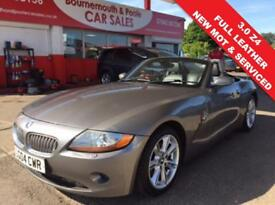 BMW Z4 3.0 CONVERTIBLE FULL BLACK LEATHER (grey) 2004