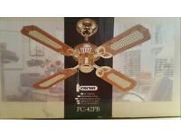 """42"""" traditional ceiling fan. BRAND NEW"""