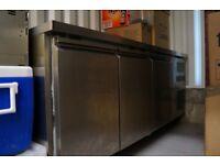 Freezer Prep Counter (nearly new)