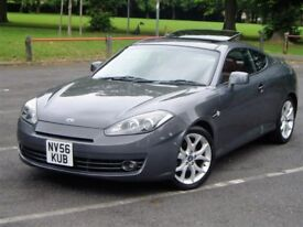 Hyundai Coupe 2.0 S3 A. Full 12 Months Mot. 87000 Miles. Service History. Cam Belt Changed. Leather.