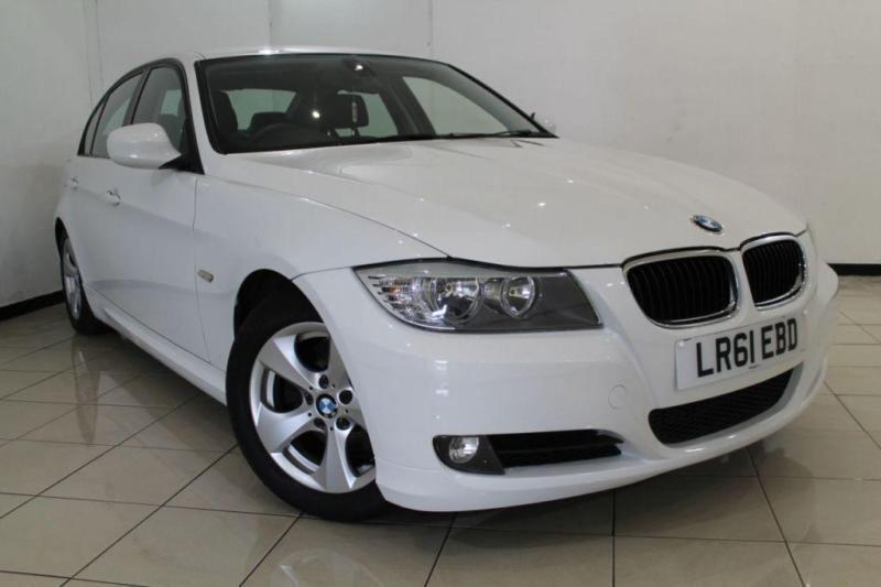 2011 61 BMW 3 SERIES 2.0 320D EFFICIENTDYNAMICS 4DR 161 BHP DIESEL