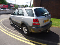 2004 KIA SERENTO CRDI XE 4X4 2.5 D SERVICE HISTORY VERY CLEAN CAR PERFECT RUNNER COME WITH 12 M MOT
