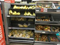 Fruit and Vegetable Stand for Supermarkets, Great Condition. Cheapest Available on Gumtree and net.