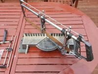 Large Compound Mitre Saw - Angle Cutting Frame Wood