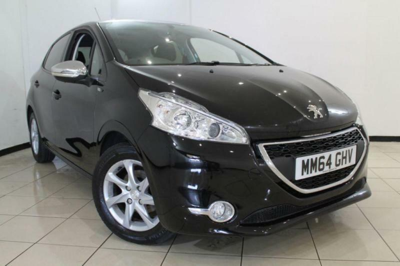 2015 64 PEUGEOT 208 1.2 STYLE 5DR 82 BHP