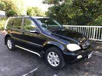52 MERCEDES ML270 CDI AUTO - JULY 2018 MOT, SERVICE HISTORY, recent gearbox costing £1800